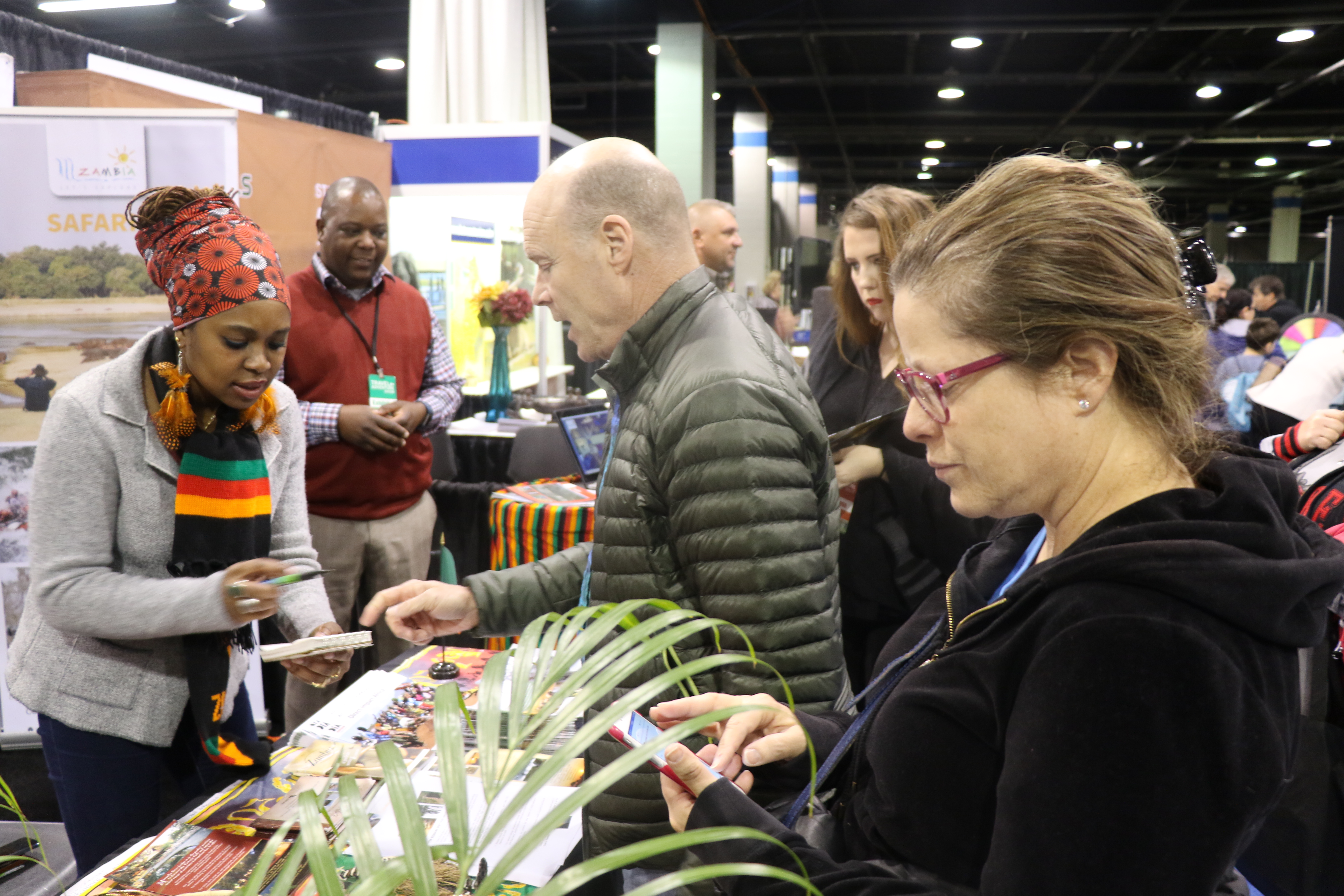 D Exhibition Zambia : Zambian u s mission collaborates with zambians in chicago