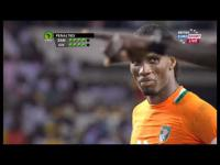 Zambia VS Ivory coast, Final 2012 ALL PENALTY KICKS